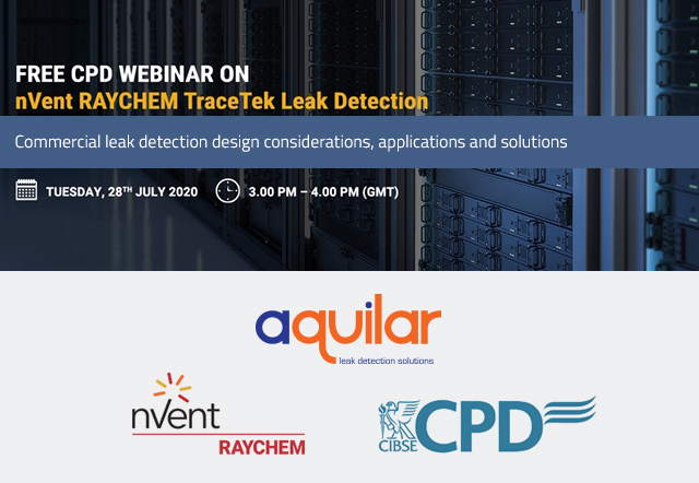 Free CPD leak detection webinar with Aquilar