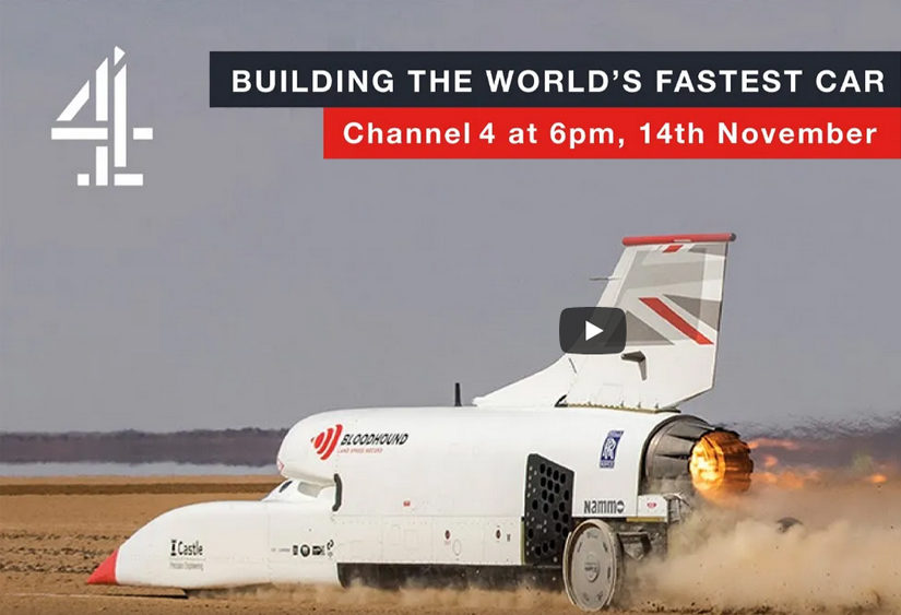 Bloodhound LSR on TV