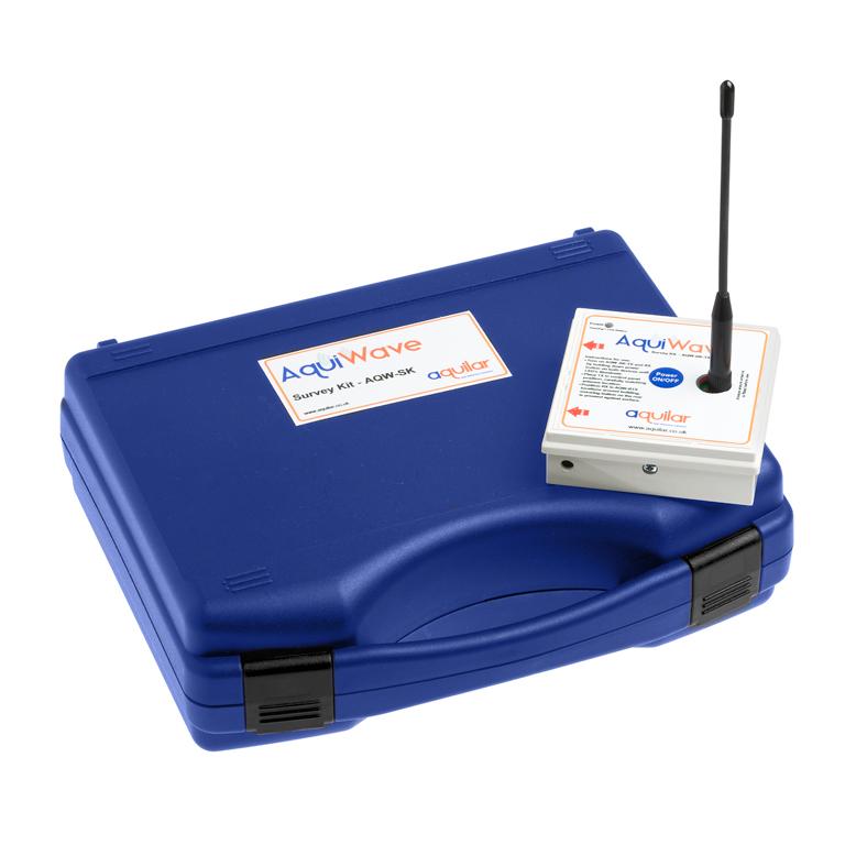 AquiWave wireless survey kit