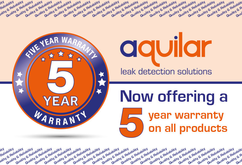Aquilar now offering a 5 year warranty on all products