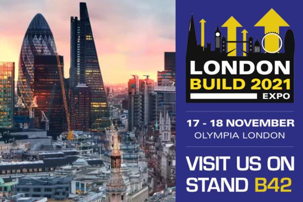 Aquilar at London Build 2021 exhibition